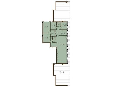 Продажа квартиры 230.8 м2 Конногвардейский бул., д.5