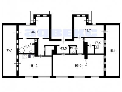 Продажа квартиры 380 м2 Итальянская ул., д.12а