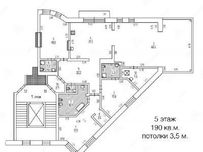 Аренда квартиры 190 м2 Восстания ул., д.8