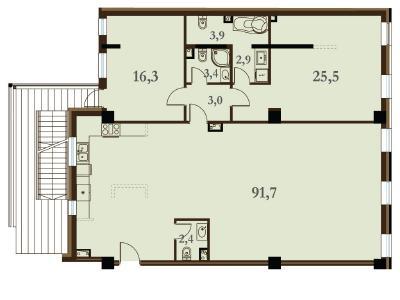 Продажа квартиры 149.1 м2 Конногвардейский бул., д.5