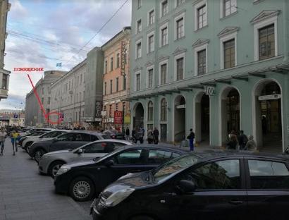 Продажа  офисного помещения Б. Морская ул., д.13, 115 м2