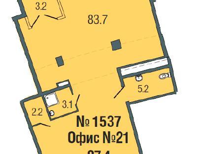 Продажа  магазина Пригородный пр., д. 4, 94 м2