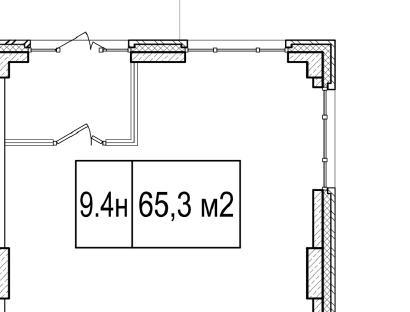 Продажа  офисного помещения КИМа пр., д.19, 65.3 м2