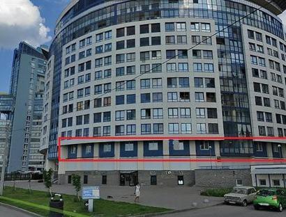 Продажа  офисного помещения Морская наб., 600 м2