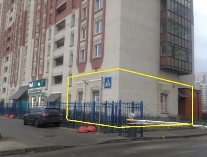 Аренда  офисного помещения Оптиков ул., д.40/17, 135.2 м2